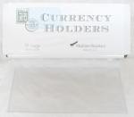 Box of 100 Standard/Medium Currency Holder