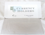 Box of 100 Large Currency Sleeves