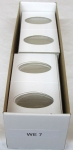 100 Elongated Cent 2x2 Mylar, Economy Boxed