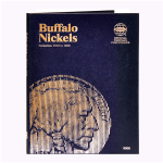 Buffalo Nickel,  1913-1938 Whitman Folder