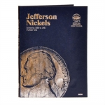 Jefferson Nickel #1, 1938-1961 Whitman Folder