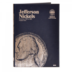 Jefferson Nickel #2, 1962-1995 Whitman Folder