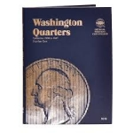 Washington Quarter #1, 1932-1947 Whitman Folder