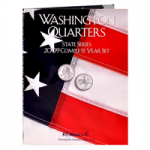 State Quarters, Wash DC & Territorial Districts, P & D, 12 Coin Whitman Folder.          Whitman...
