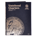 Small 8111 Vol 2 Statehood Quarter P/D  2002-2005 Whitman Folder