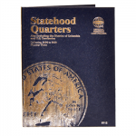 Small 8112 Vol 3 Statehood Quarter P/D  2006-2009 Whitman Folder 8112
