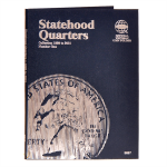 Small 9697 Vol 1 Statehood Quarter P/D  1999-2001 Whitman Folder