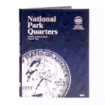 Small 2876 National Park Quarter P & D Folder, Volume 1, 2010-2015, 60 Coin Whitman