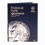 Small 2877 National Park Quarter P & D Folder, Volume 2, 2016-2021, 60 Coin Whitman