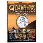 Small 2883 National Park Quarter 2010-2021 Single Coin Per Park, 60 Coin Whitman