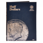 Half Dollars Plain, (No Dates), Whitman Folder