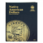 Native American Dollars Starting 2009 Whitman Folder