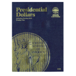 Small 2182 Presidential Dollar Vol #2, 2012-2016, 1 Coin Slot Whitman Folder