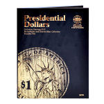 Small 2276 Folder, P & D Presidential Dollar 2012-2017 Volume 2, Whitman