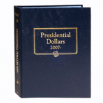 Presidential Dollar 1 Coin Each, Starting 2007, Whitman Classic Album