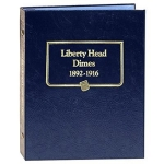 Barber Liberty Head Dimes 1892-1916  Whitman Classic Album No Longer Stocked