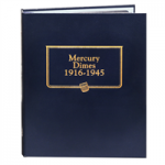 Mercury Dimes 1916-1945 Whitman Classic Album No Longer Stocked