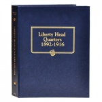 Barber Liberty Head Quarters 1892-1916 Whitman Classic Album