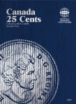 Canadian 25 Cents, 2000-2009, Volume 5 Folder Whitman