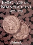Eagle/Indian Cents 1857-1909  Harris Folder