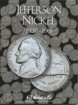 Jefferson Nickels #1 1938-1961 Harris Folder