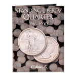 Standing Liberty Quarters  1916-1930 Harris Folder