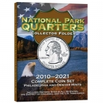 Large 2879 National Park Quarter P & D, Folder 2010-2021, 120 Coin Harris