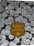 Small 2881 National Park Quarter P & D Folder Volume 2, 2016-2021, 60 Coin Harris