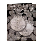 Walking Liberty Half Dollars #1 1916-1936  Harris Folder