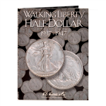 Walking Liberty Half Dollars #2 1937-1947 Harris Folder