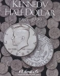 Kennedy Half Dollars #2 1985-1999 Harris Folder