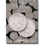 Peace Dollars 1921-1935 Harris Folder
