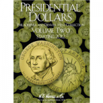 Small 2278 Folder, P & D Presidential Dollar 2012-2017 Volume 2,  Harris