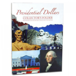 Large 2279 Folder, P & D Presidential Dollar, 4 Panel, 07-11 Volume 1, Whitman