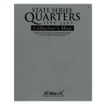 Bi-Fold Map, State Quarter Series Harris