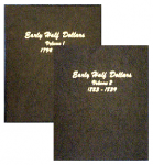 Early Half Dollars 1795-1839 Double Volume Set Dansco