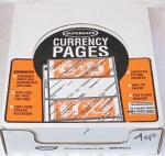4 Pocket Safety Medium Currency Pages Supersafe