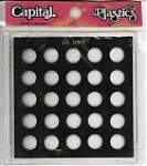 Cents Galaxy Case, (No Dates), 25 Coin Capital Plastics