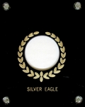 4x5 Silver Eagle 1 Coin Capital Plastics