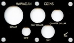 3.5x6 Hawaiian Coins 5 Coin Set Capital Plastics