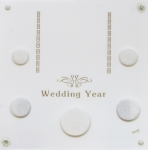6x6 Wedding Year 5 Coin Set Capital Plastics
