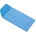 2x2 Blue Coin Envelope Box of 500