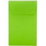 2X2 Green Envelope Box of 500