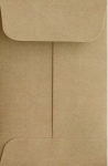 2x2 Gray Coin Envelope Box of 500