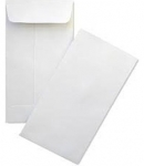 2x2 White Coin Envelope Box of 500