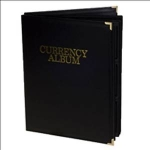 Large Currency Album, 10 Pocket Whitman
