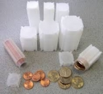 Small Dollar 25 Count Square Coin Tube CoinSafe 100/bx