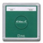 Dime Color Coded 2x2 Display Case 25 Count Box - Harris