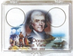 2x3 Ocean In View 2005 Commemorative Nickel Snaplock, 2 Coin