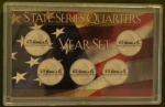 3x5 2000 State Quarter  5 Coin Frosty Case - Harris